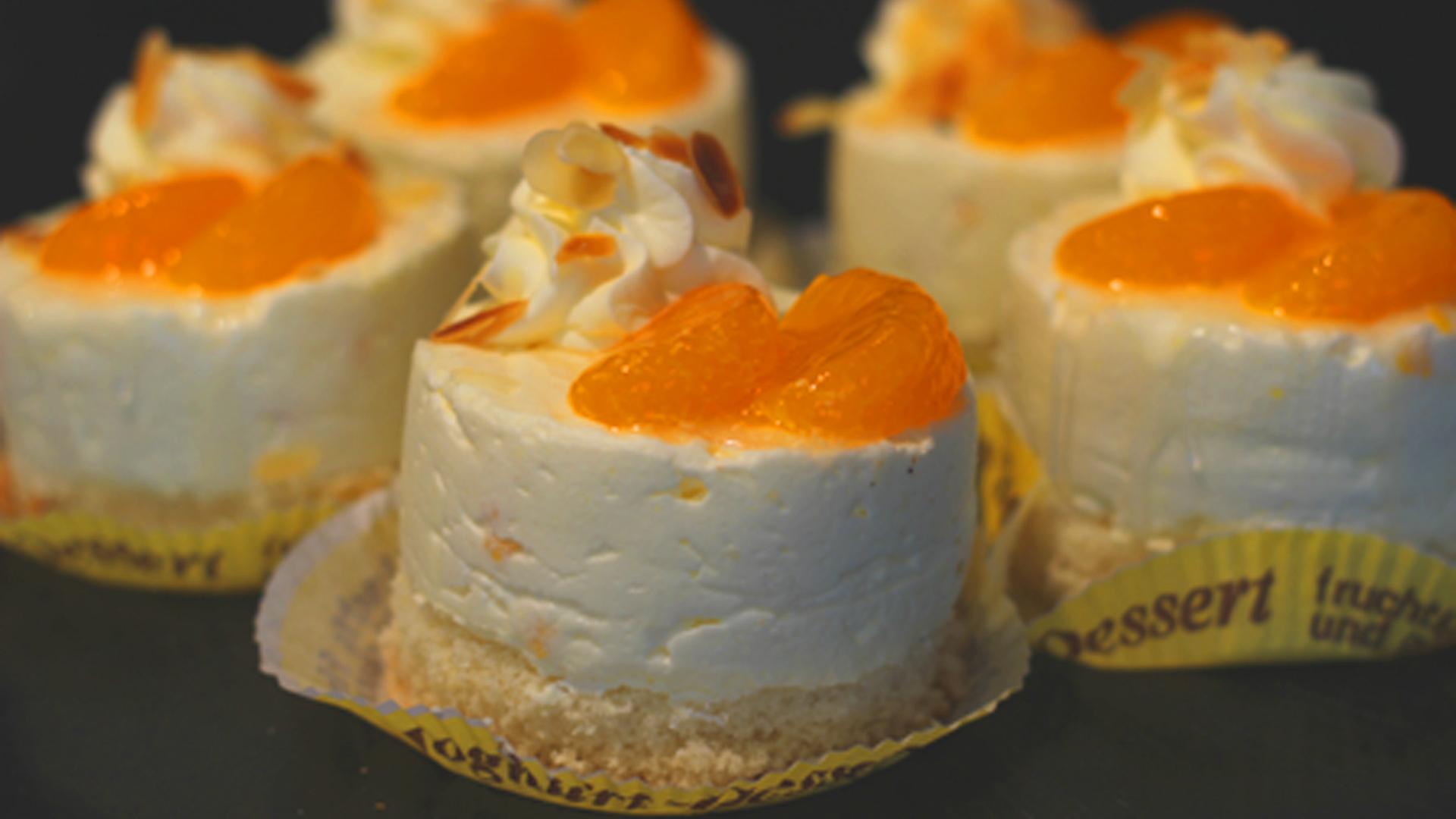 Sahne-Dessert 1